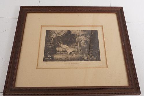 Framed Print - Huon En Almansaris