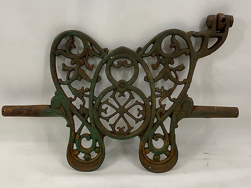 Vintage Decorative Cast Iron Treadle, Pedal Sewing Machine Butterfly