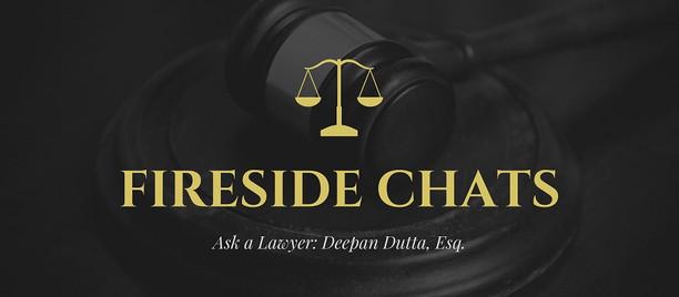 "Register for Deepan Dutta's first ""Ask a Lawyer"" Zoom Webinar on Sunday, Feb. 21"