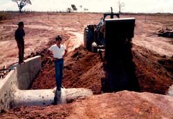 Projeto de Irrigação na Fazenda Santa Rita | 1985