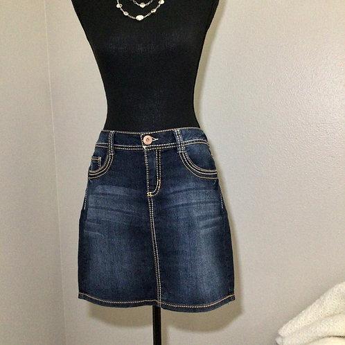 Blue Epic Mini Skirt Size 8