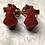 Thumbnail: Lauren Ralph Lauren Lydia Suede Sandals Sz 9 NWOB