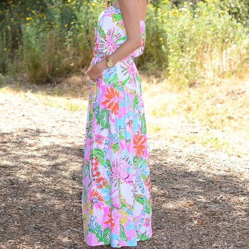 Lilly Pulitzer Nosey Posey Maxi Dress XS