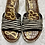 Thumbnail: Sam Edelman Calf Hair Zebra Print Cork Wedge