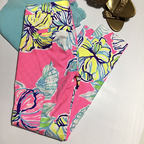 Lily Pulitzer Kelly Pants Bright Floral