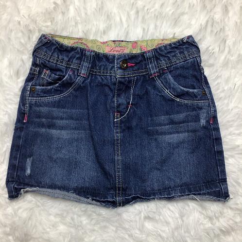 Levi's Girls Distressed Denim Skirt Sz 8