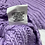 Thumbnail: Love & Harmony Off the Shoulder Sweater Purple