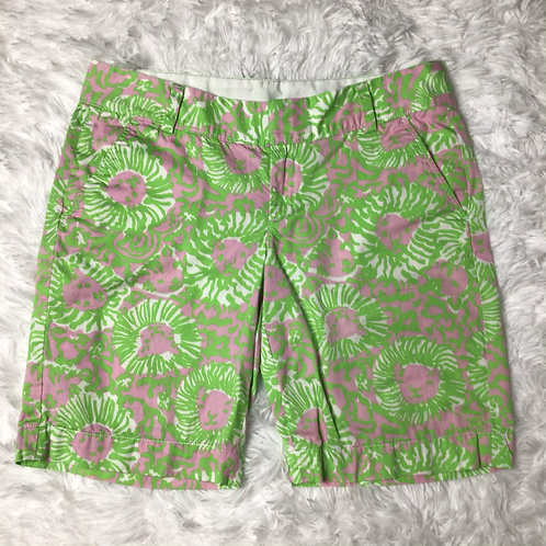 Lilly Pulitzer The Chipper Shirts Sz 8