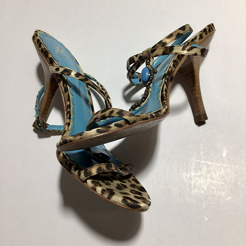 J Vincent Heels Dolly Kitten Leopard