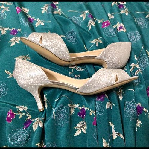 Women's Heels Silver I. Miller