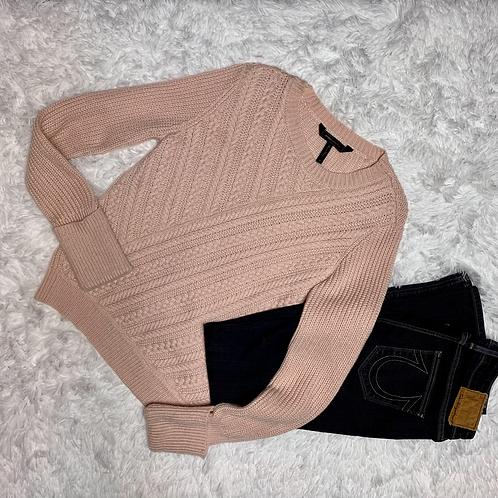 BCBGMaxAzria Women's Sweater Pink Sz S
