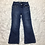 Thumbnail: Levi's Girls Sequined Flare Jeans Sz 6