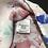 Thumbnail: Elle Women's Sleeveless Blouse Ruffle Front Sz M