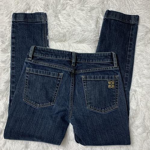 BCBGMAXAZRIA Straight Cut Ankle Jeans 27