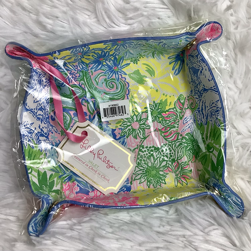 Lilly Pulitzer Leather Valet Cheek to Cheek