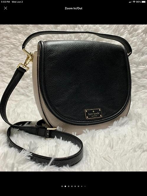 Kate Spade Oliver Street Lilly Saddle Handbag