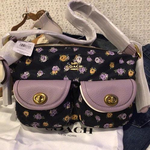 COACH Authentic Shoulder Bag Vintage Rose