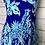 Thumbnail: Lilly Pulitzer Annalee Stretch Dress Royal Purple Jungle Path Print