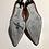 Thumbnail: Cole Haan Women's Heels Classic Brown Reptile Sz 7.5