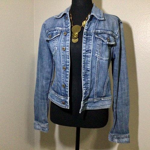Express Jean Jacket Size Small