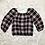 Thumbnail: Speechless Girls Plaid 3/4 Sleeve Top