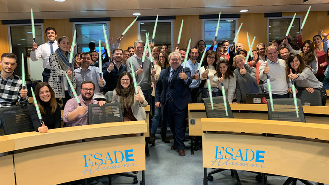Sesiones de Elevator Pitch en ESADE