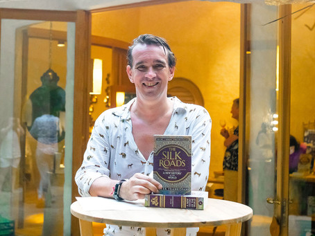 An Author on the Island: Guest Blog from Peter Frankopan