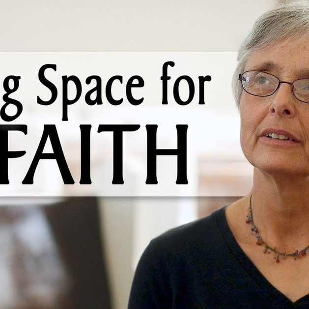 We make space for our faith