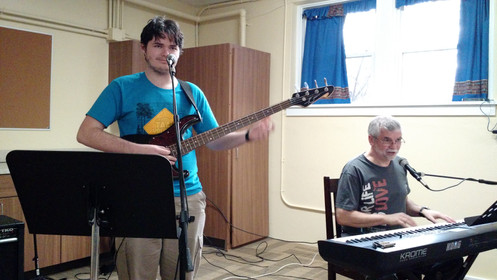 We rehearse all kinds of music