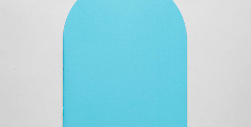 WS& ARCO TURQUOISE Notebook L