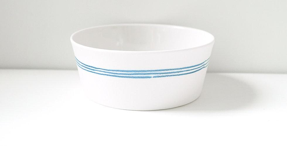 Porcelain Ramekin Marinière White/Blue
