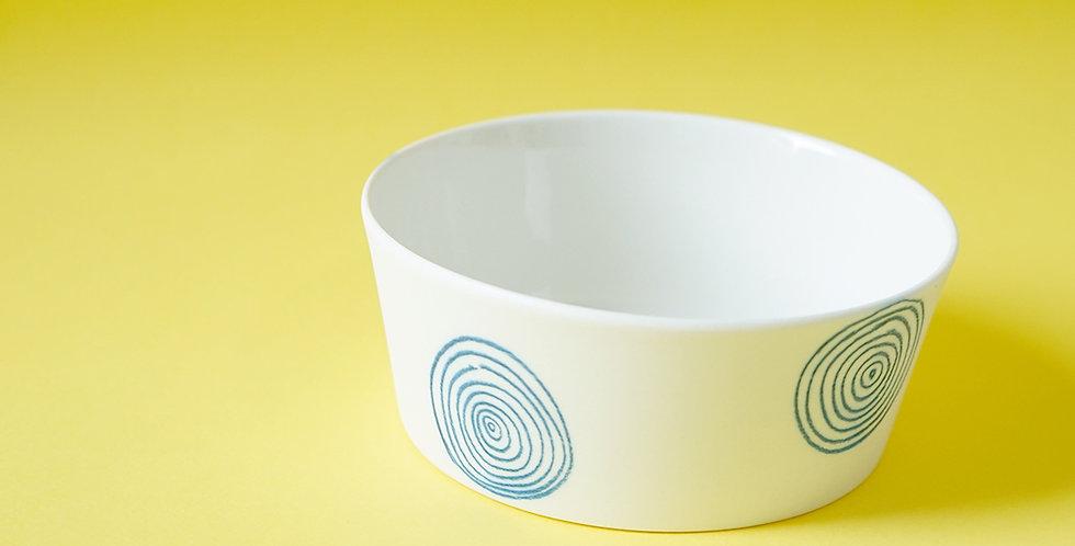 Porcelain Ramekin Bois White/Blue