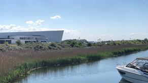 哥本哈根海邊的當代美術博物館
