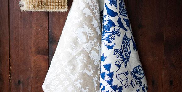 SAANA JA OLLI Yö metsässä Tea Towel / Table Mat