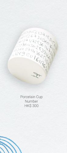 Porcelain Cup Number