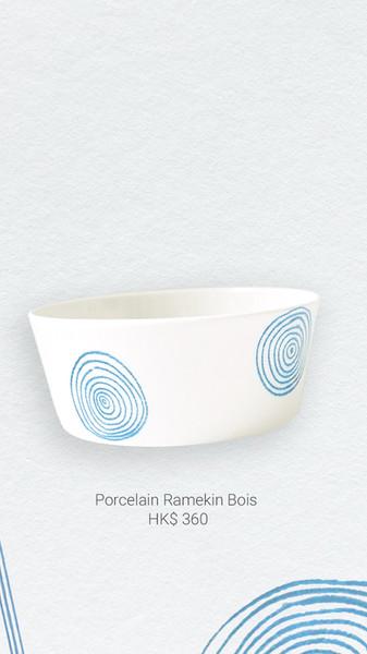 Porcelain Ramekin Bois