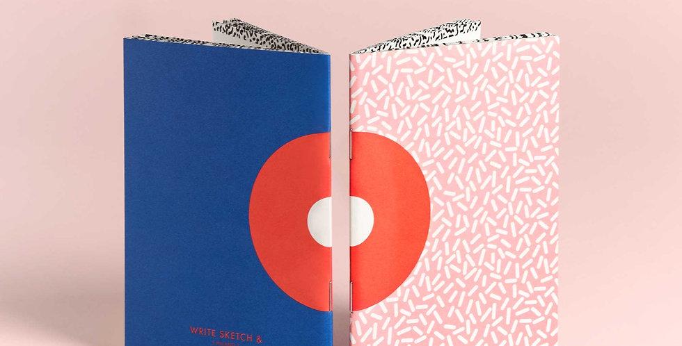 WS& SUPER DONUT Pocket Notebook Set