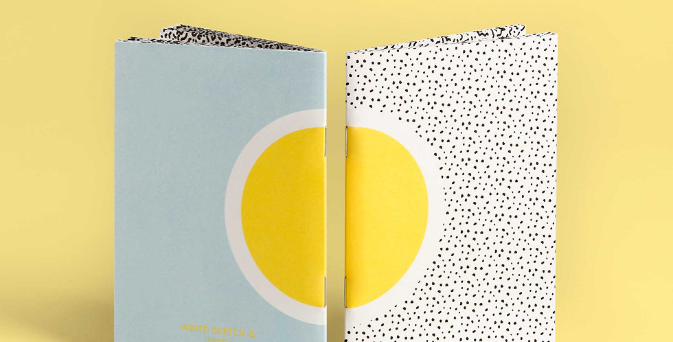 WS& SUPER SUN Pocket Notebook Set