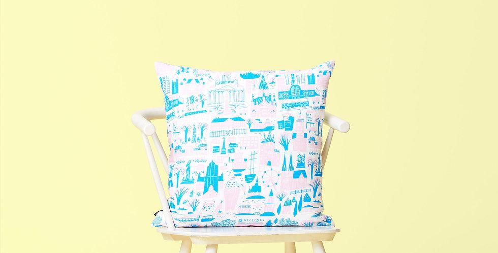 HELSINKI PINK Cushion Cover