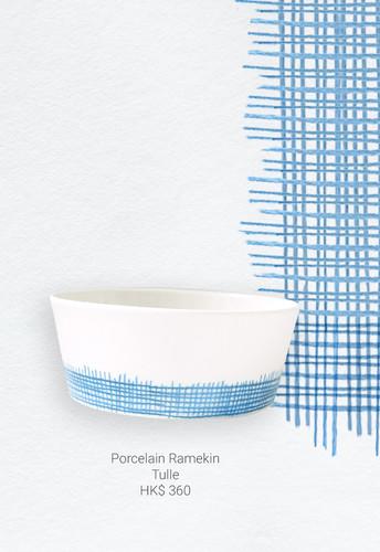 Porcelain Ramekin Tulle