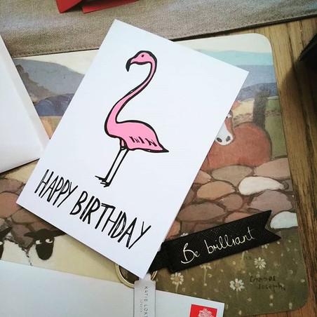 Happy Birthday Flamingo!_Available to pu