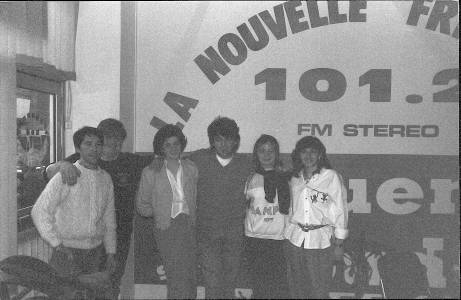 Claude Barzotti dans les studios