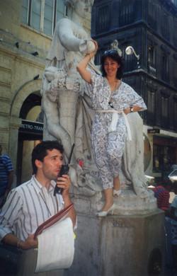 Alain Autun et Christine Douglas