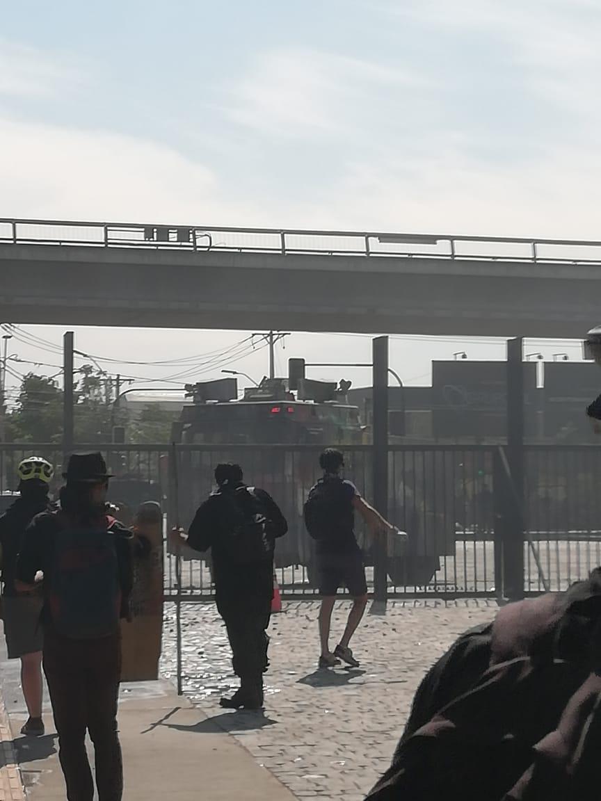 Represión policial San Joaquín