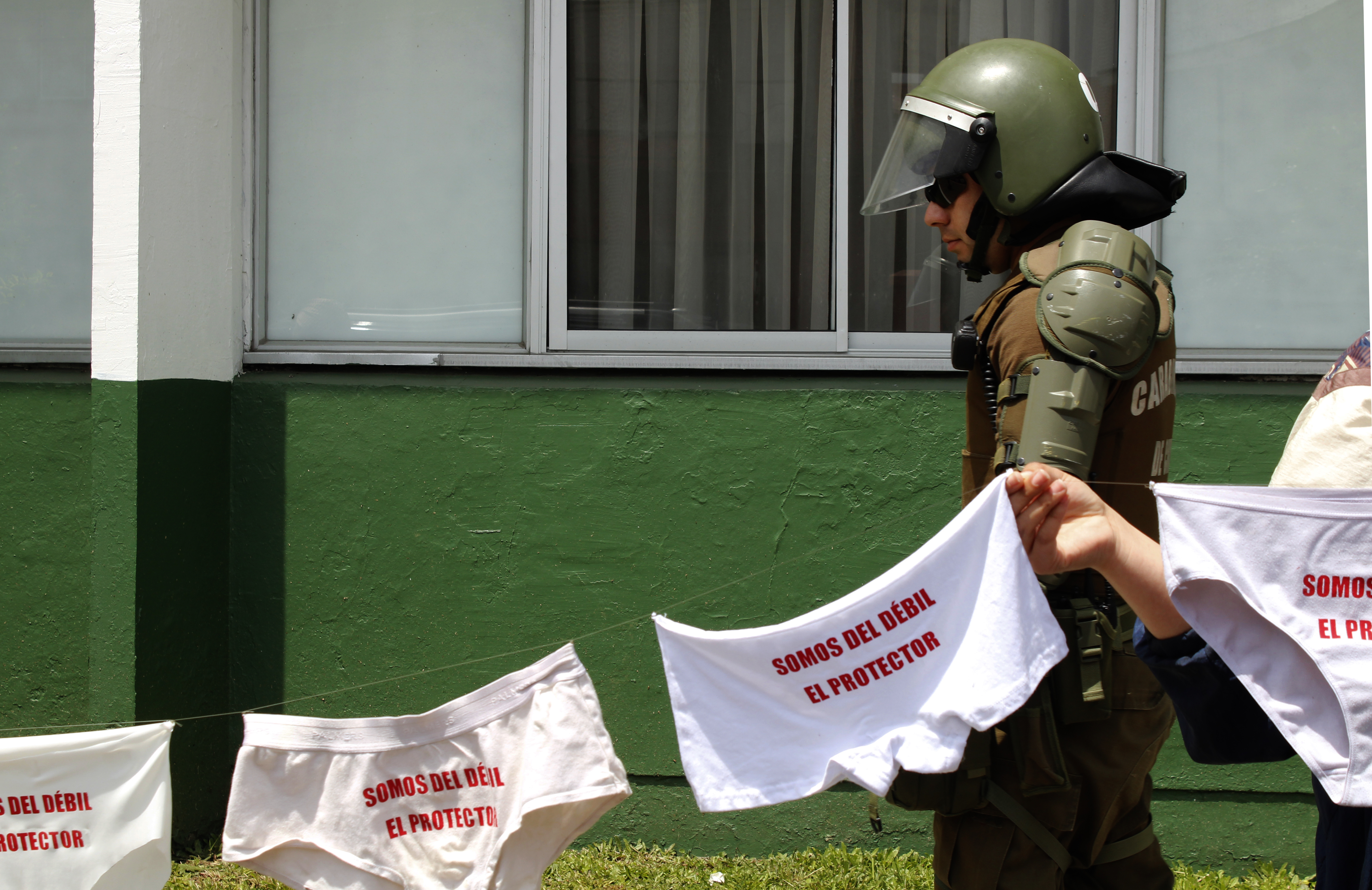 """Intervención colectiva """"Somos del débil el protector"""""""