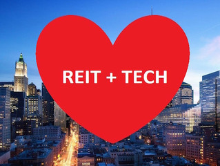 It's Go Time For REITs… That Embrace Tech