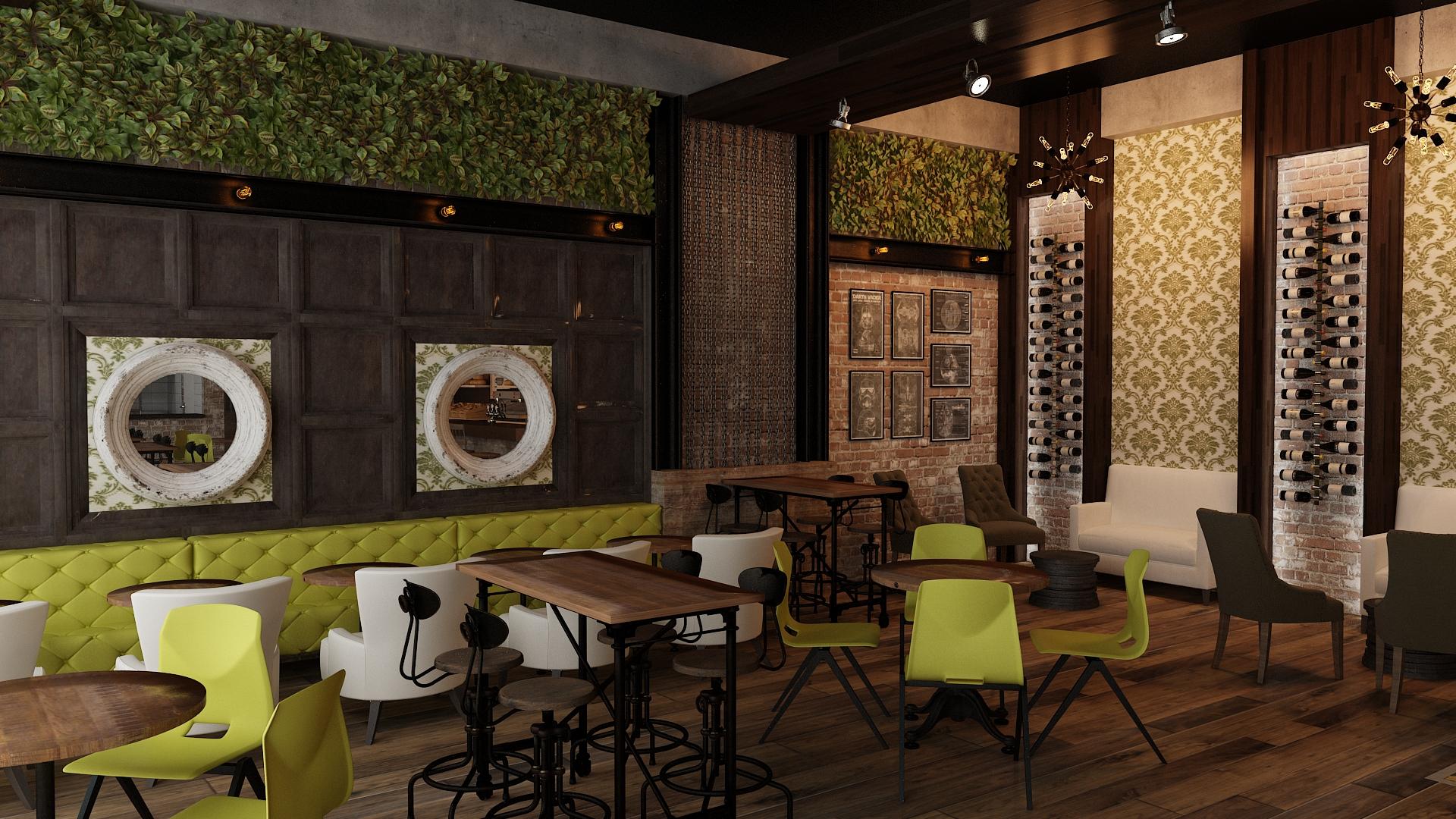Cafe wine bar 04