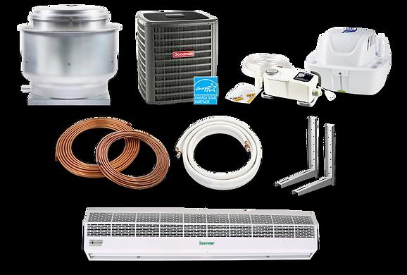 Aire acondicionado  Aire acondicionado Costa Rica  extracción  ventilación  BOS  goodman,  york  innovair  soler y palau  leaho  refrimundo  carrier