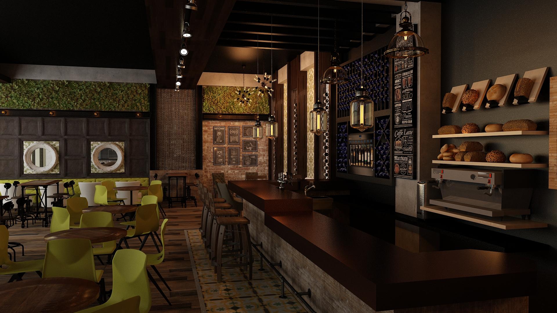 Cafe wine bar 03