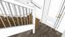 Mało miejsca na schody - Schody z krótszym pierwszym policzkiem